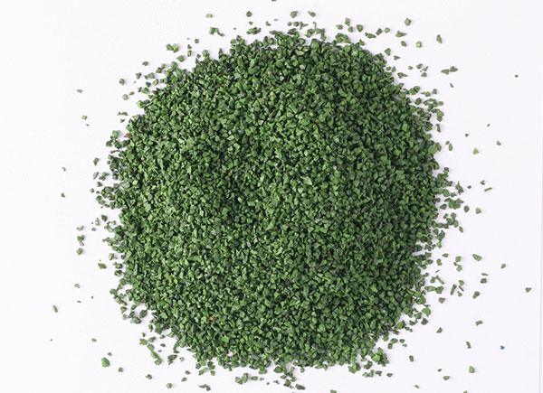 крошка зеленая